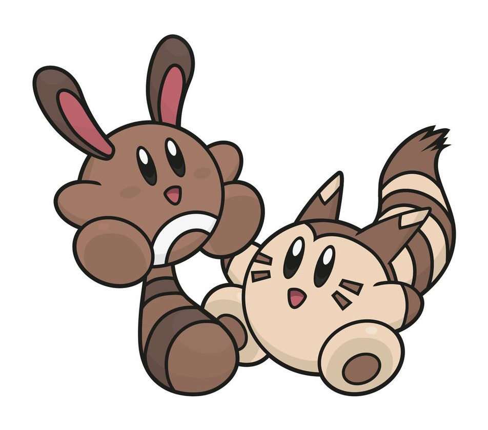 Kirby / Sentret – Furret by Elenwae on DeviantArt