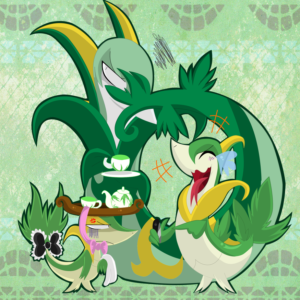 download Snivy is Not Amused by SoftMonKeychains on DeviantArt