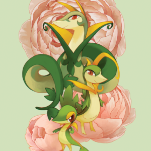 download Snivy, Servine, and Serperior | My Pokemon Faves | Pinterest …