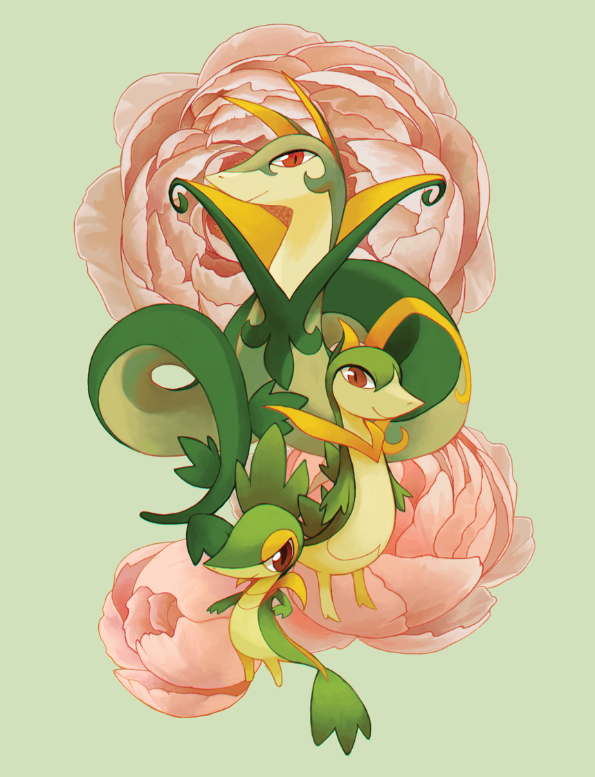 Snivy, Servine, and Serperior | My Pokemon Faves | Pinterest …