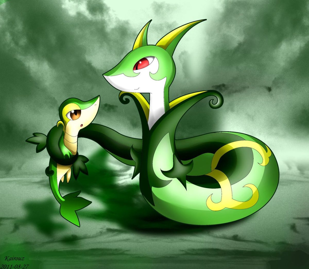 Pokemon Snivy Wallpaper Group (68+)