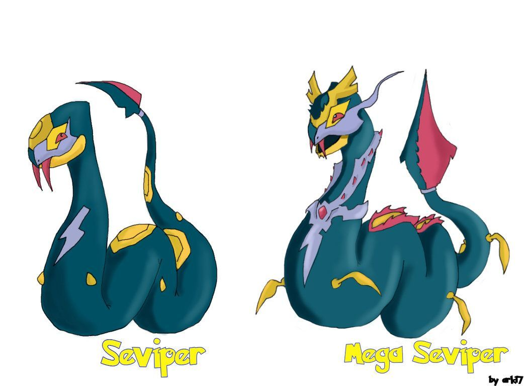 mega seviper – Google Search | Pokemon | Pinterest | Pokémon