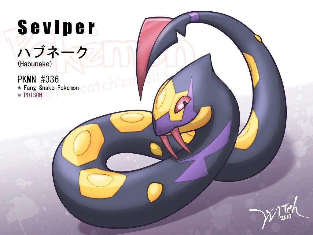 The Elements | Seviper | Poison Blog #3 | Pokémon Amino