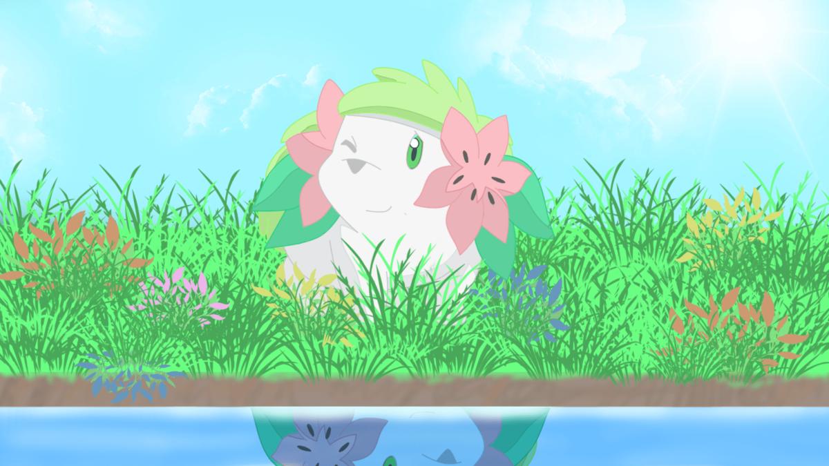 56747 pokemon shaymin wallpaper, Pokemon Wallpaper – HD Wallpaper
