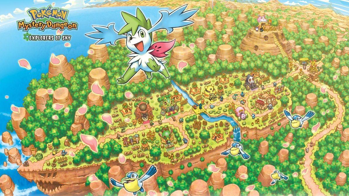 Pokemon world shaymin wallpaper | (117636)