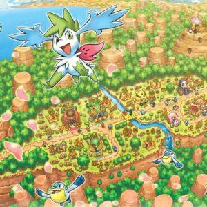 download Pokemon world shaymin wallpaper | (117636)