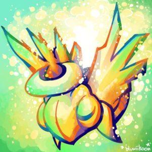 download Glitter Shedinja by Bluwiikoon on DeviantArt