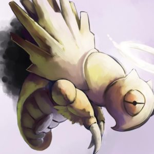 download Creepy pokemon insects dead simple background grey shedinja …