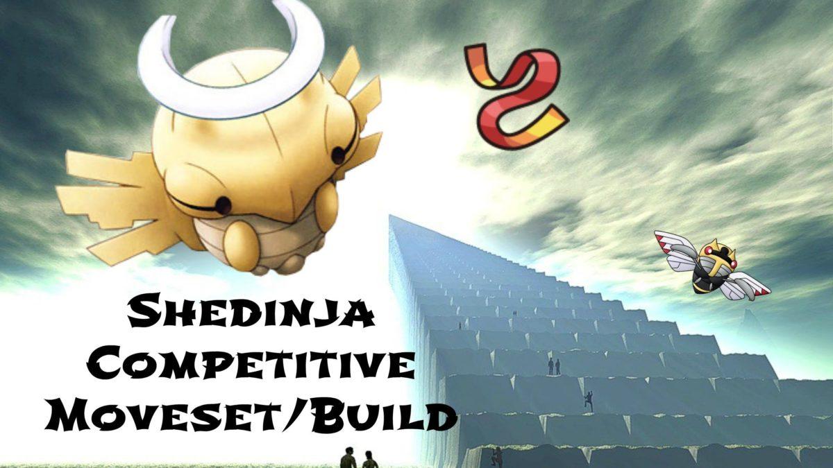 Shedinja Pokemon XY Competitive Moveset/Build! – Wonder Sash! – YouTube