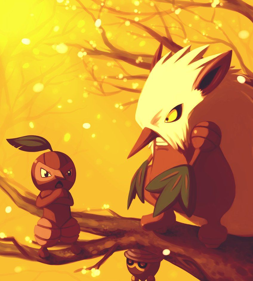 Seedot and Nuzleaf and Shiftry | Pokemon | Pinterest | Pokémon and …