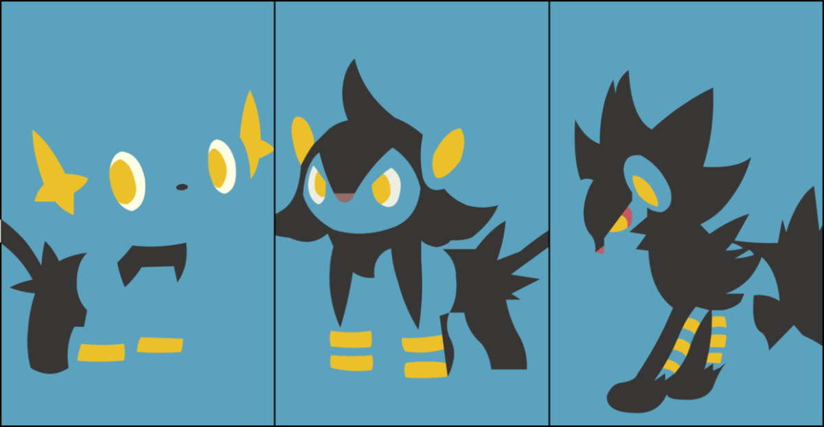 Shinx-luxray by dragonitearmy on DeviantArt