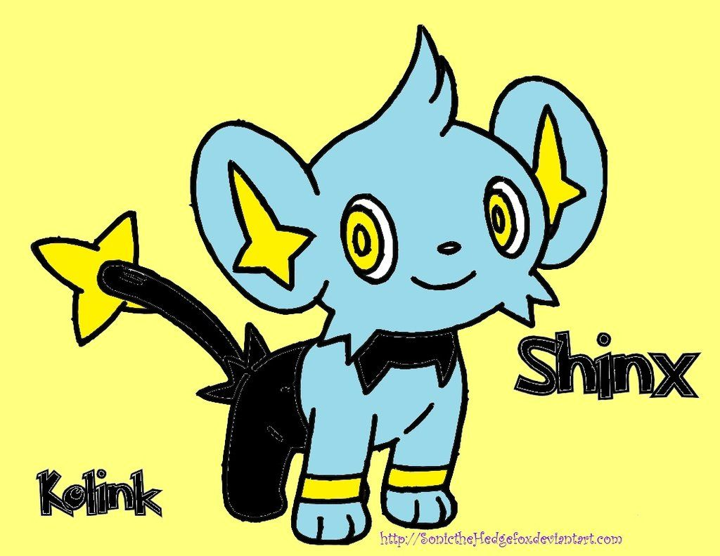 Pokemon Shinx by SonictheHedgefox on DeviantArt