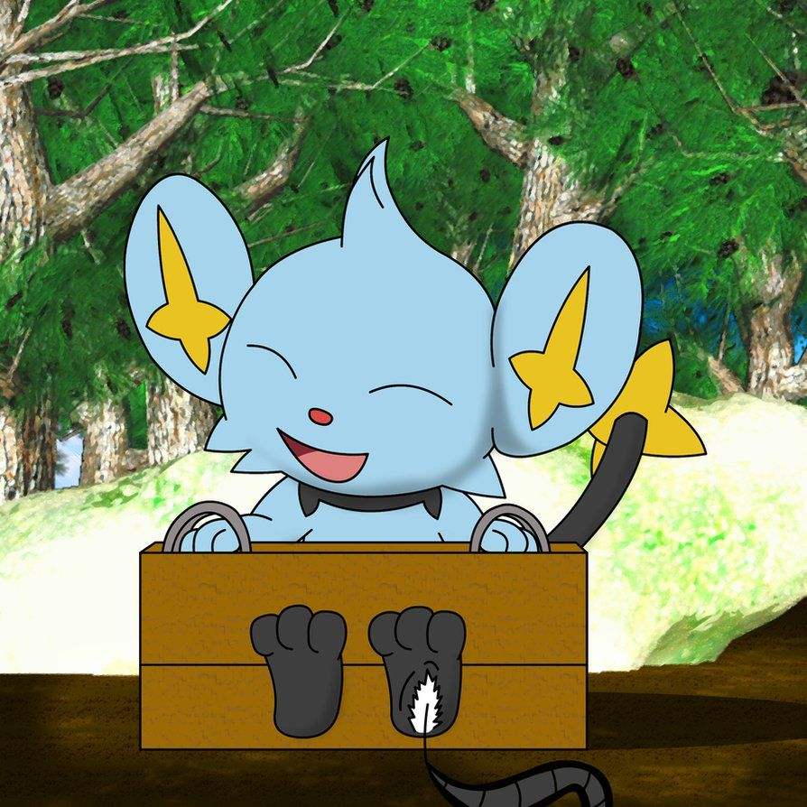 Shinx Tickle for Pokepaws12 by Alphaws on DeviantArt