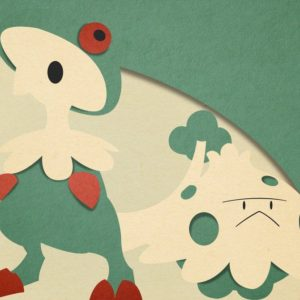 download Shroomish and Breloom – Material Design by EugenianToons on DeviantArt