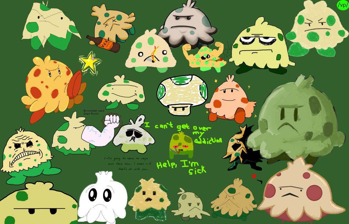 VP's Shroomish by VPdrawings on DeviantArt