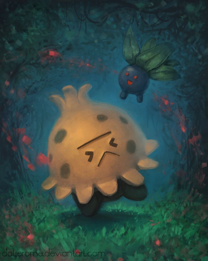 Shroomish :D by DatJerome on DeviantArt