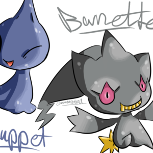 download Shuppet and Banette by Chaomaster1 on DeviantArt