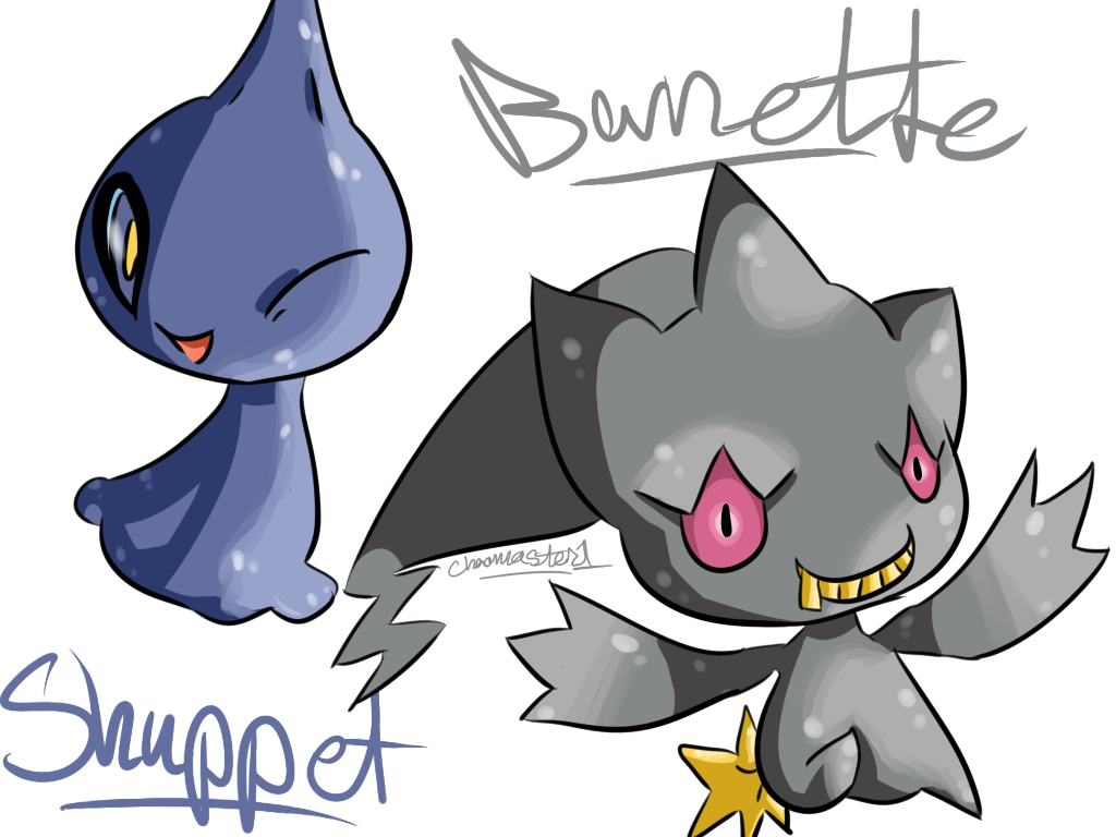 Shuppet and Banette by Chaomaster1 on DeviantArt
