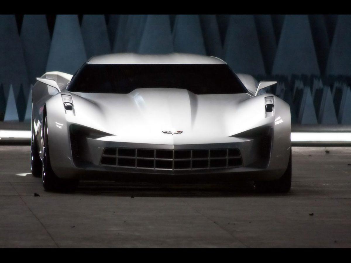 2009 Chevrolet Corvette Stingray Sideswipe Concept – Front …
