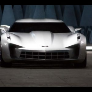 download 2009 Chevrolet Corvette Stingray Sideswipe Concept – Front …