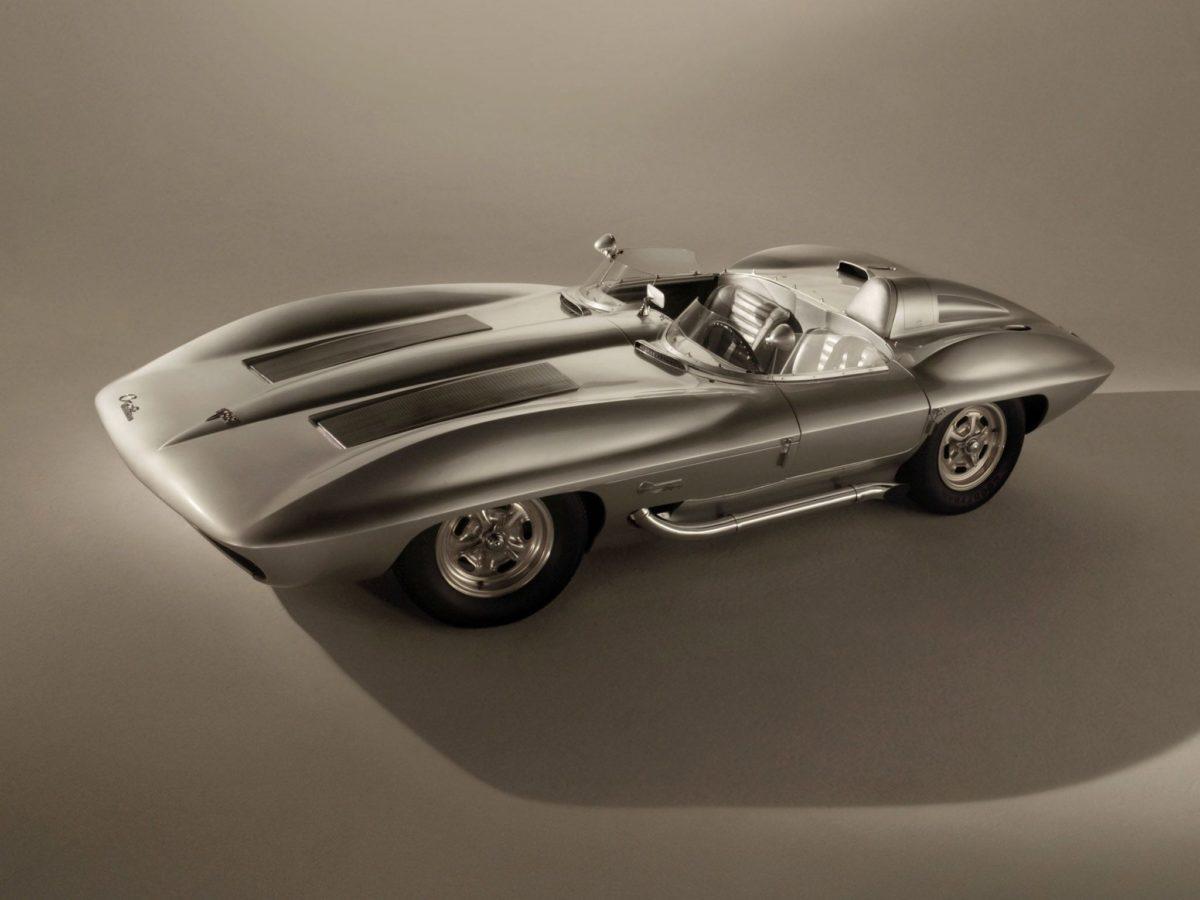 Corvette Stingray Concept Car Sideswipe | 3D Wallpapers | Pinterest …