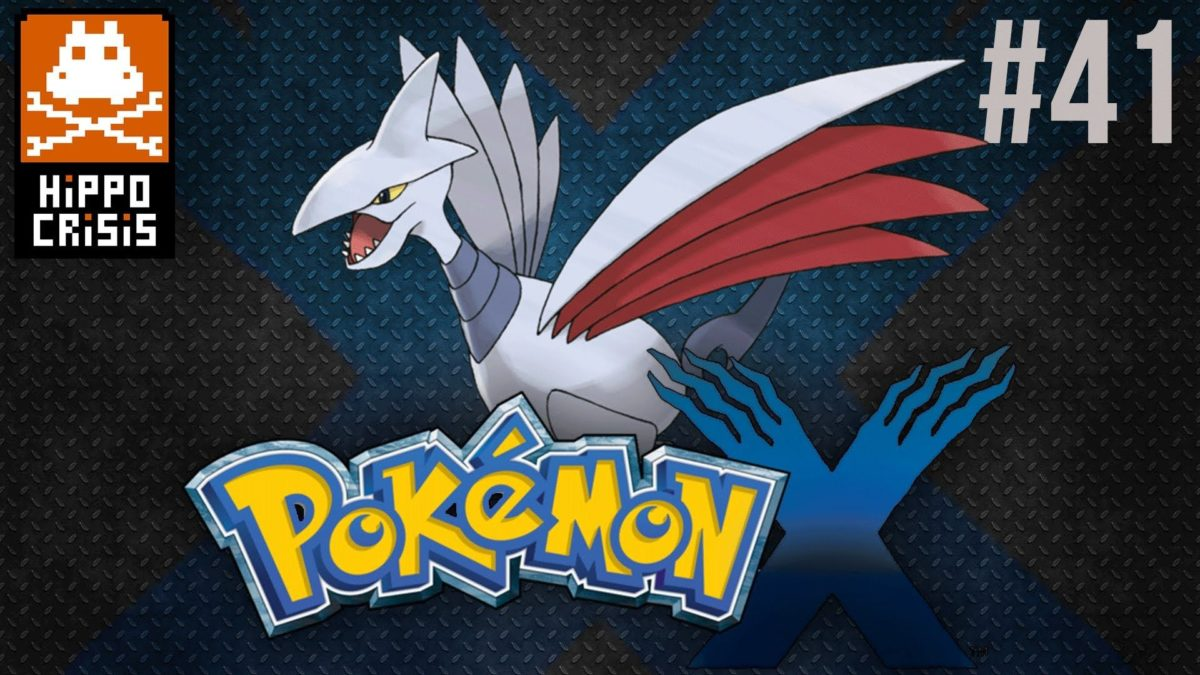 41. Let's Play Pokémon X – Perfect Skarmory [Victory Road Third Cave …