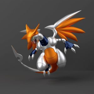 download ArtStation – Charizard + Skarmory Pokefusion | Fakemon, Cristina Summa