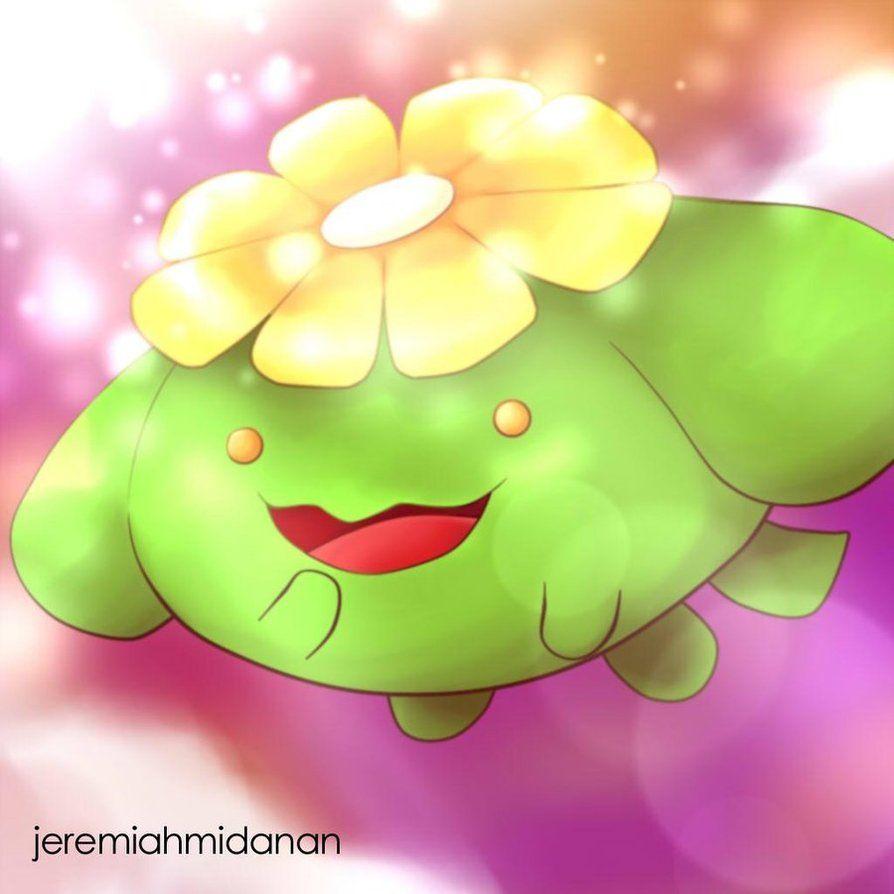 Pokemon : Skiploom by MayaIdanan on DeviantArt