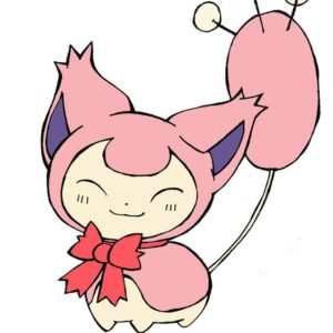 download Skitty with a bow by Popomo on DeviantArt