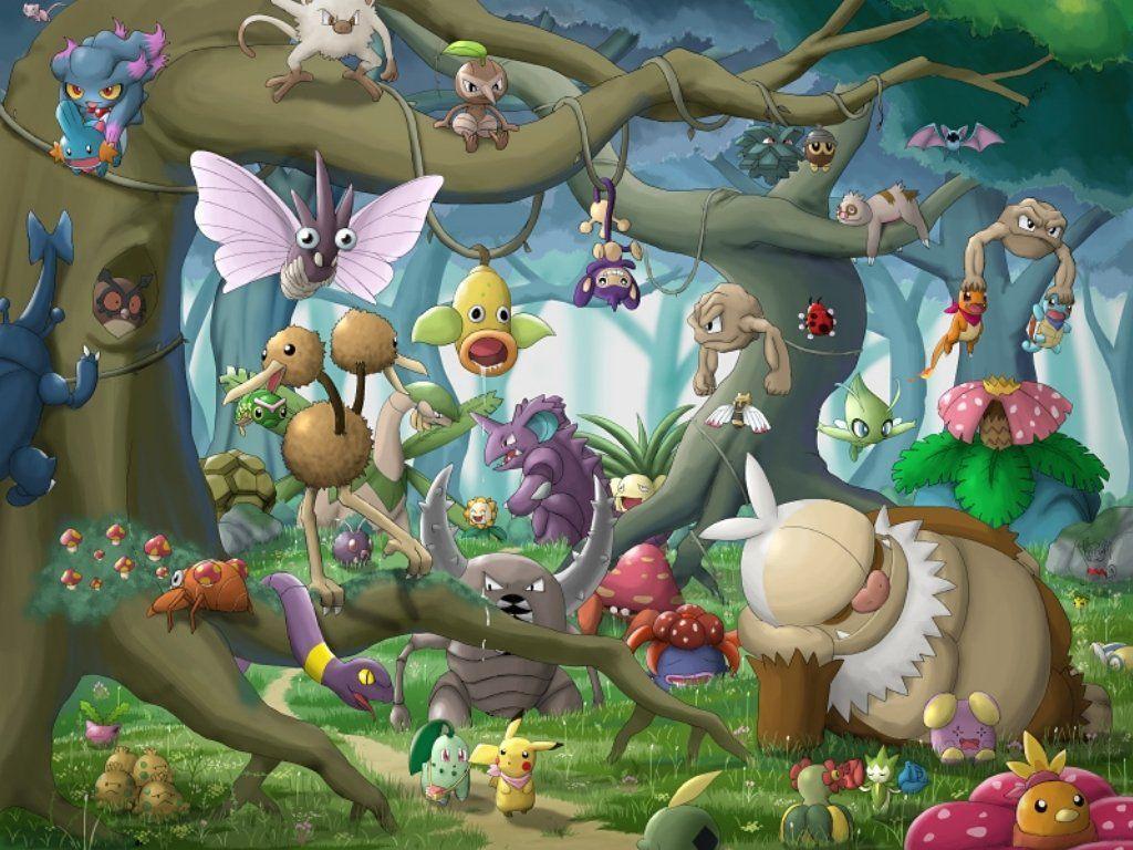 21 Chikorita (Pokémon) HD Wallpapers | Background Images – Wallpaper …