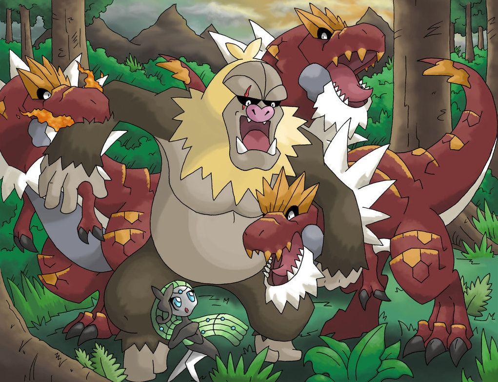 Slaking Kong vs Tyrantrum by Jougeroth on DeviantArt