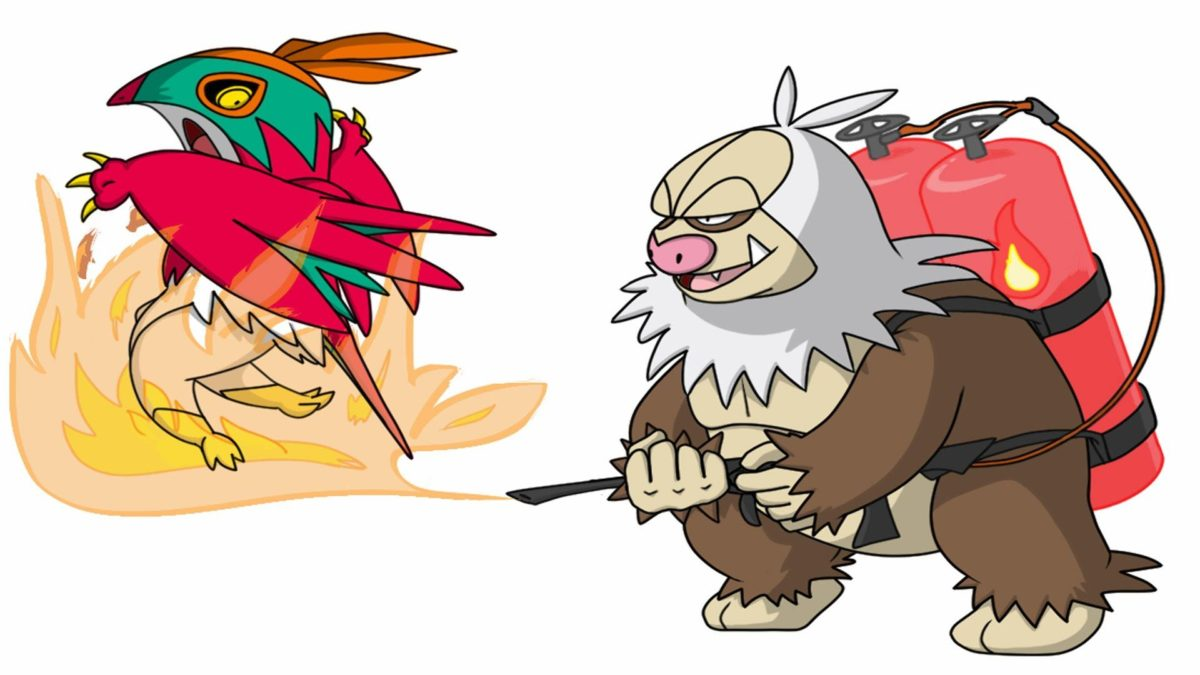 Slaking used Flamethrower! | Pokemon Omega Ruby Alpha Sapphire [ORAS …