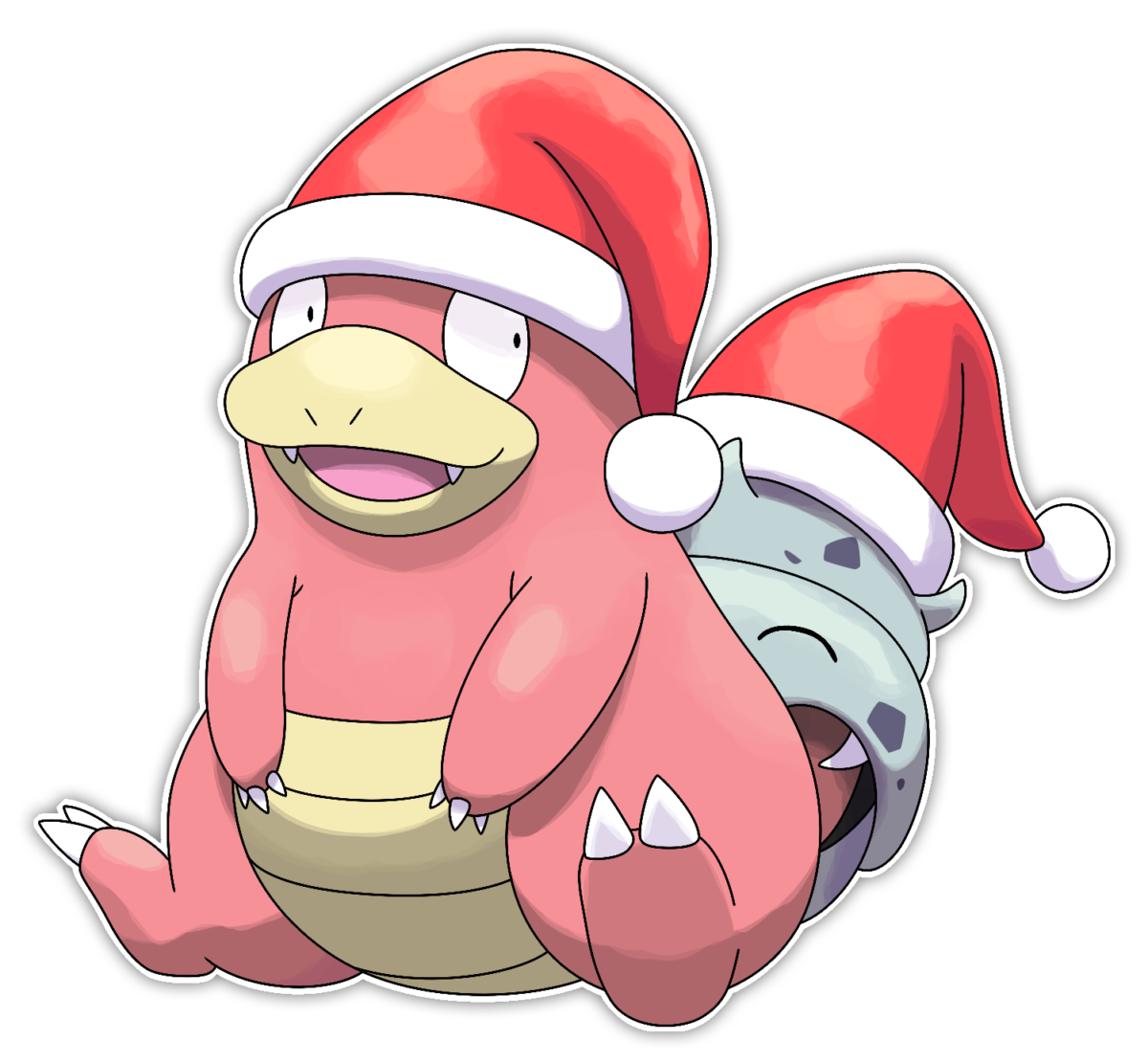 Slowbro – Commission by Smiley-Fakemon on DeviantArt