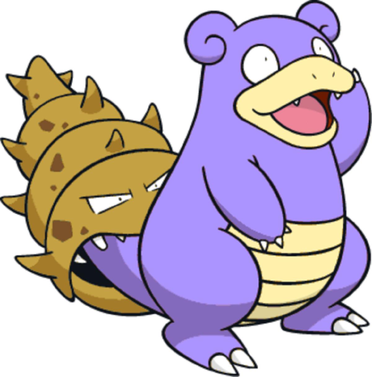 Speedy and Spikey the Slowbro | PokéFanon | FANDOM powered by Wikia