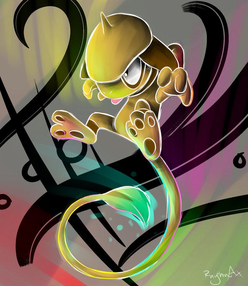 Smeargle Virtuoso by RhythmAx on DeviantArt