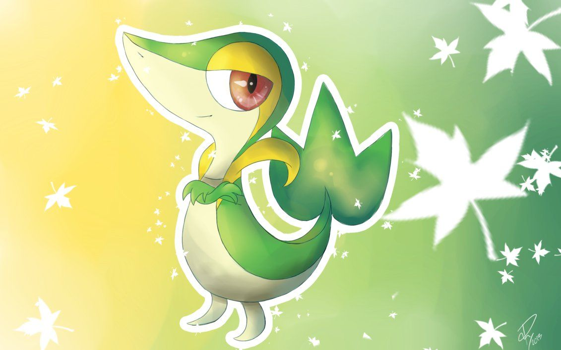 A Little Snivy by Doovid97 on DeviantArt