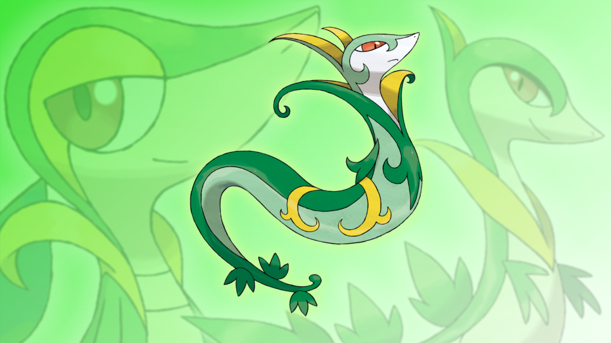 Serperior Wallpaper | Collection 11+ Wallpapers