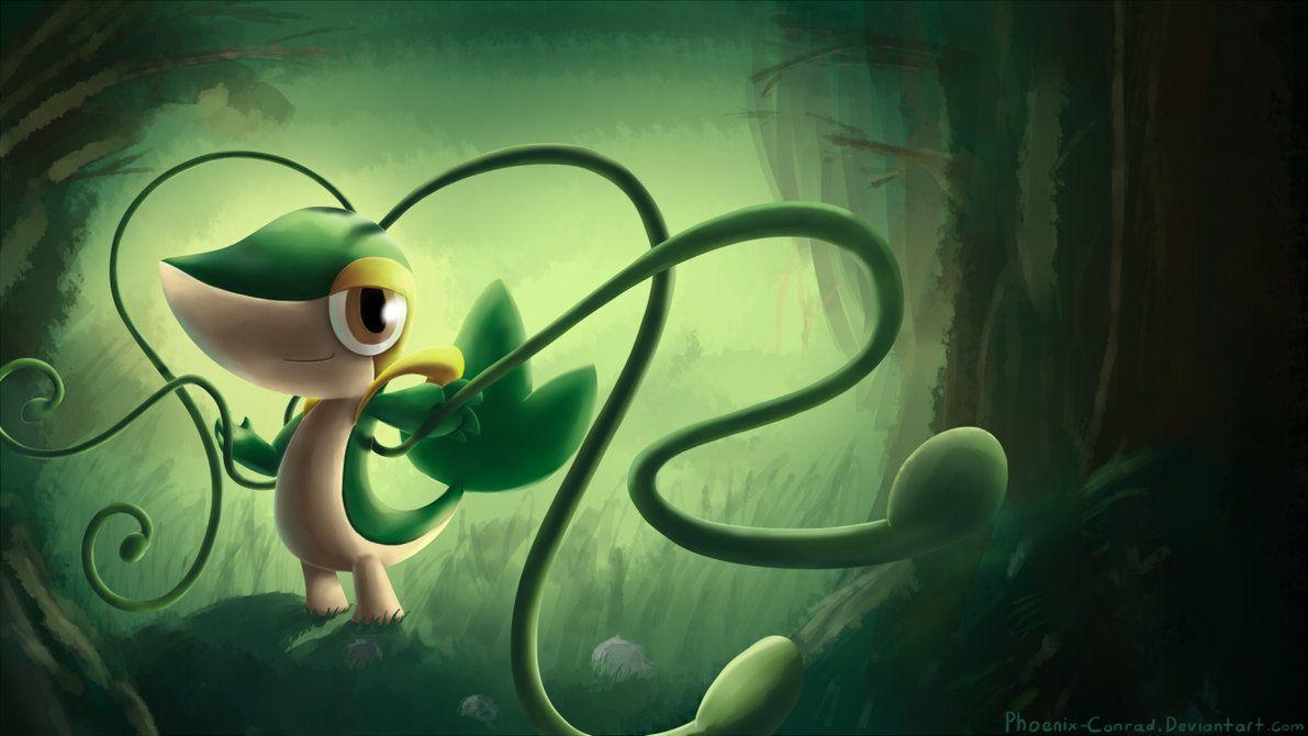 League of Pokemon – Snivy by StarShipPizza on DeviantArt
