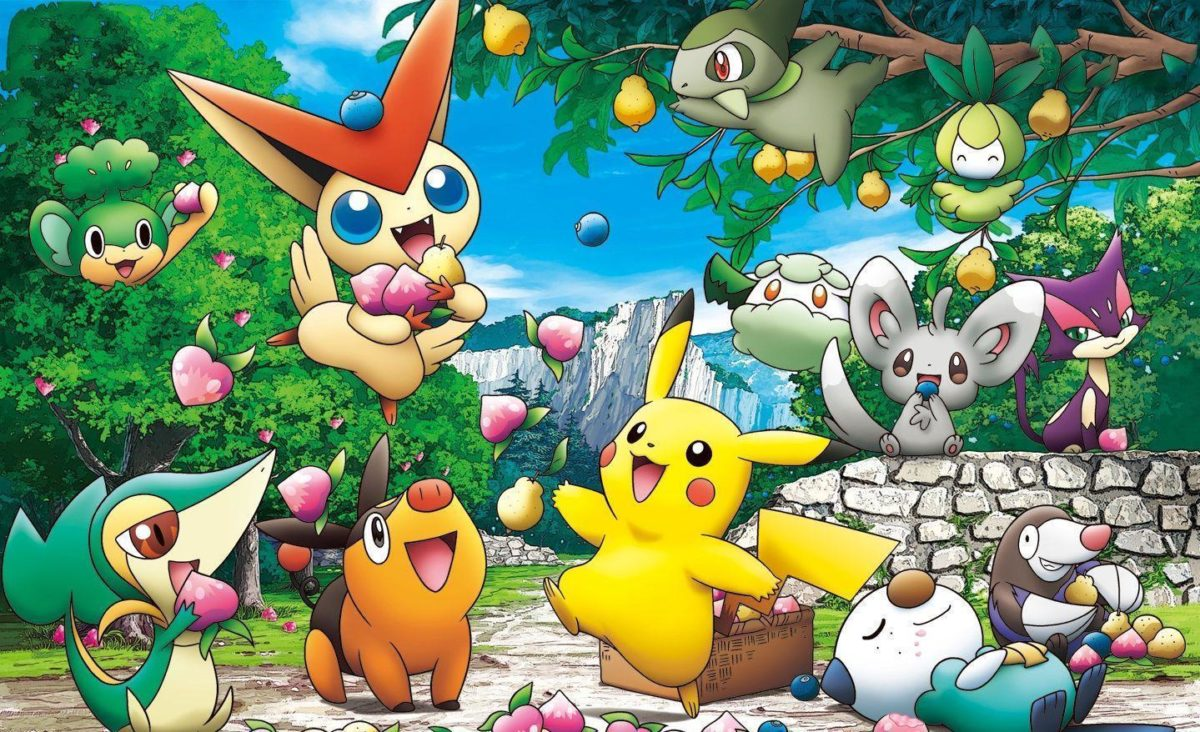 12 Snivy (Pokemon) HD Wallpapers | Background Images – Wallpaper Abyss