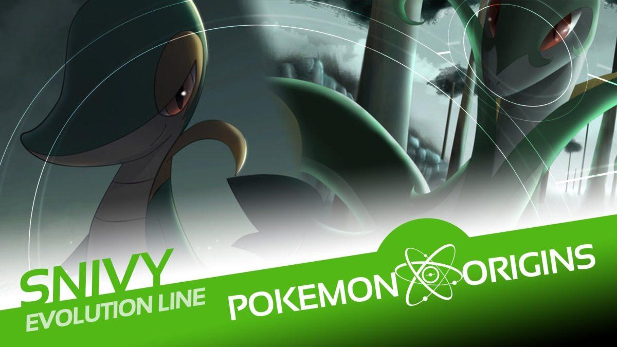 Pokémon Origins | Snivy Evolution Line – YouTube