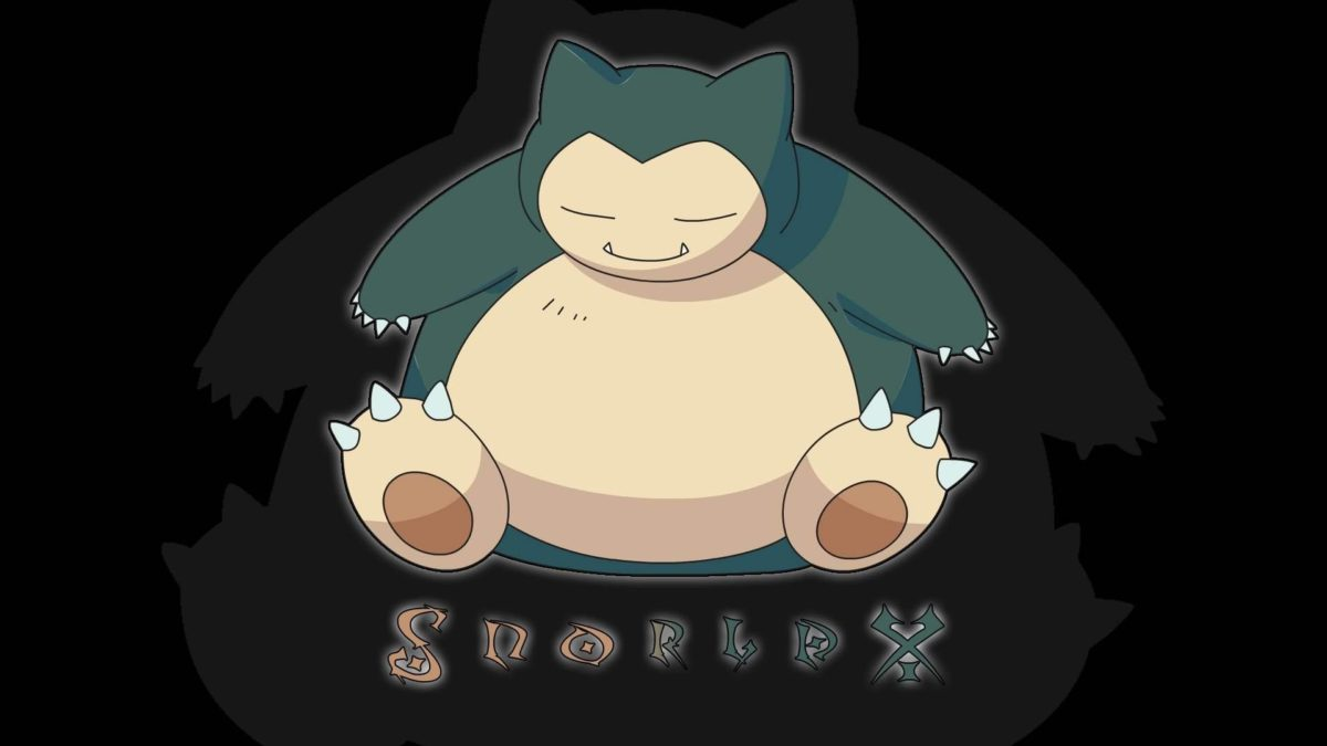 Pokemon Snorlax – WallDevil