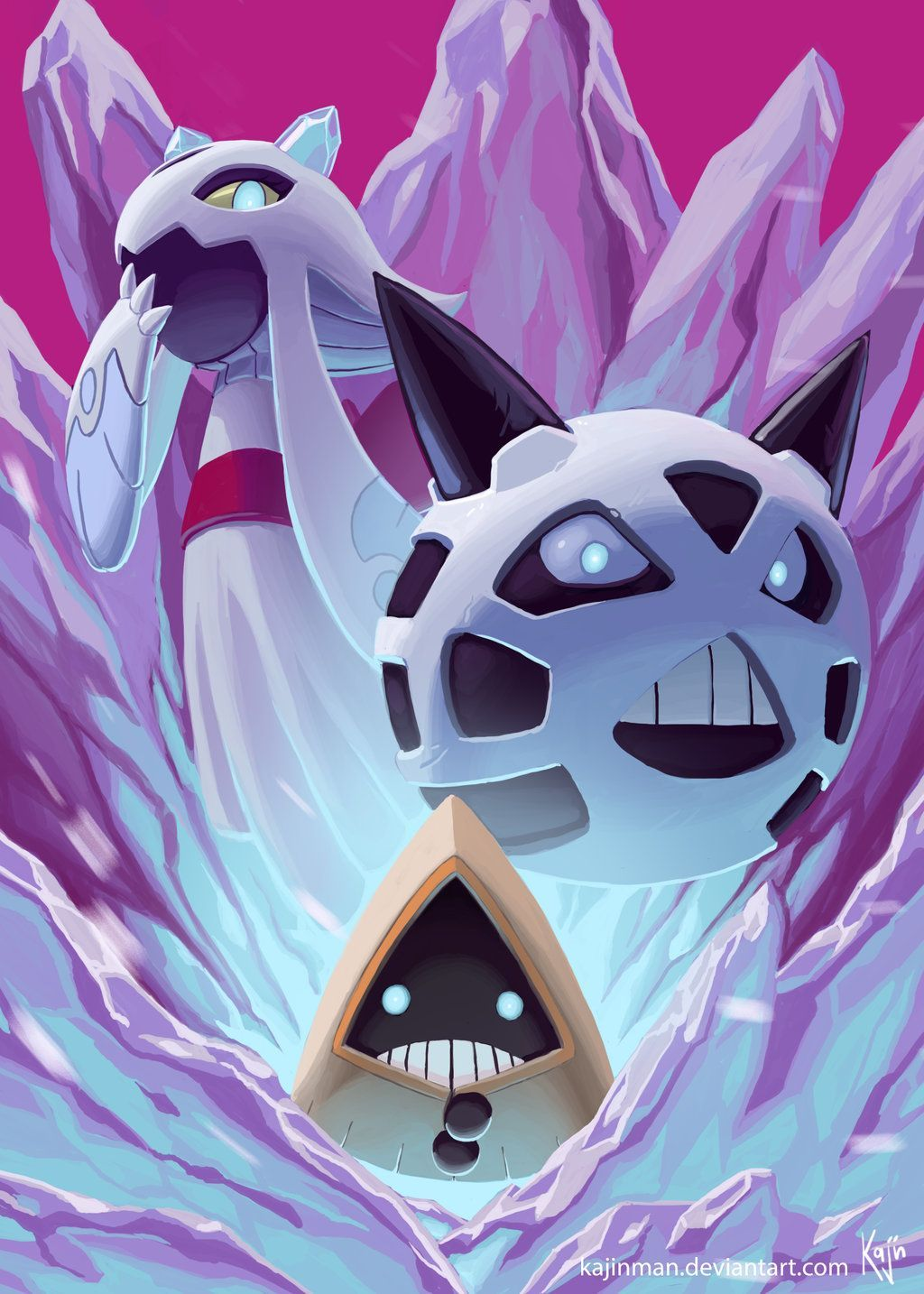 Snorunt and evos by Gustavo Valencia | Pokemon | Pinterest …
