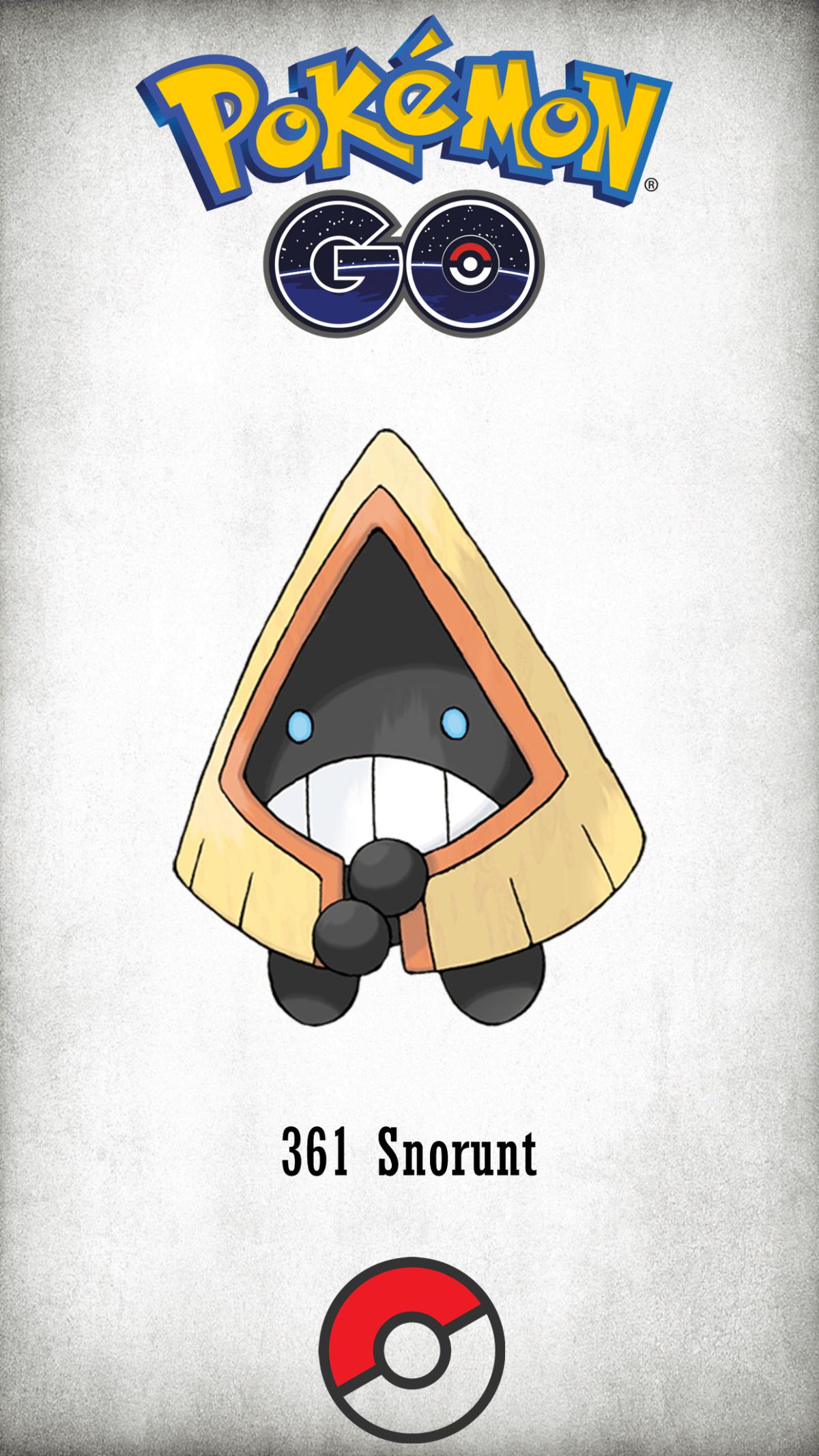 361 Character Snorunt | Wallpaper
