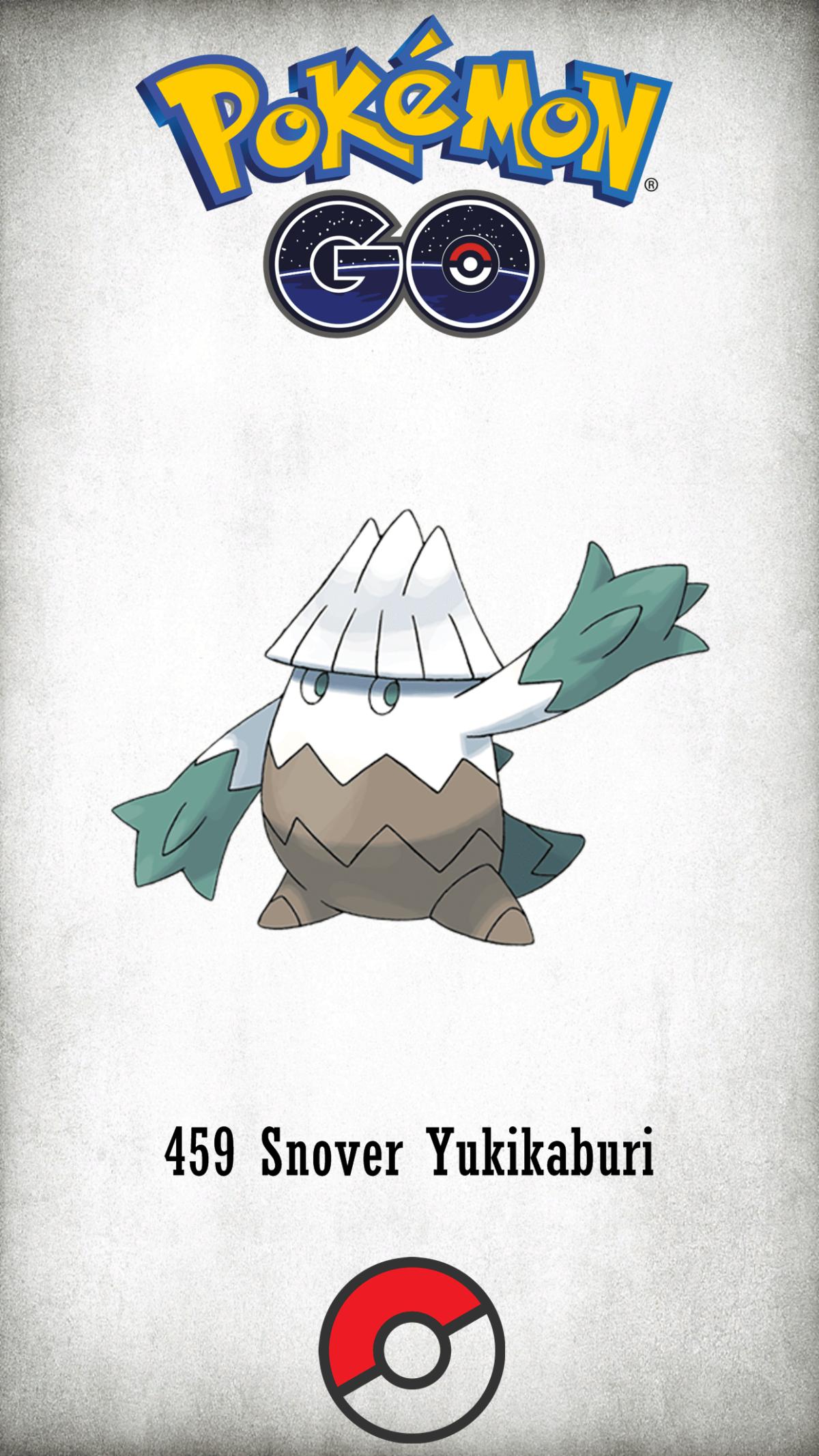459 Character Snover Yukikaburi | Wallpaper
