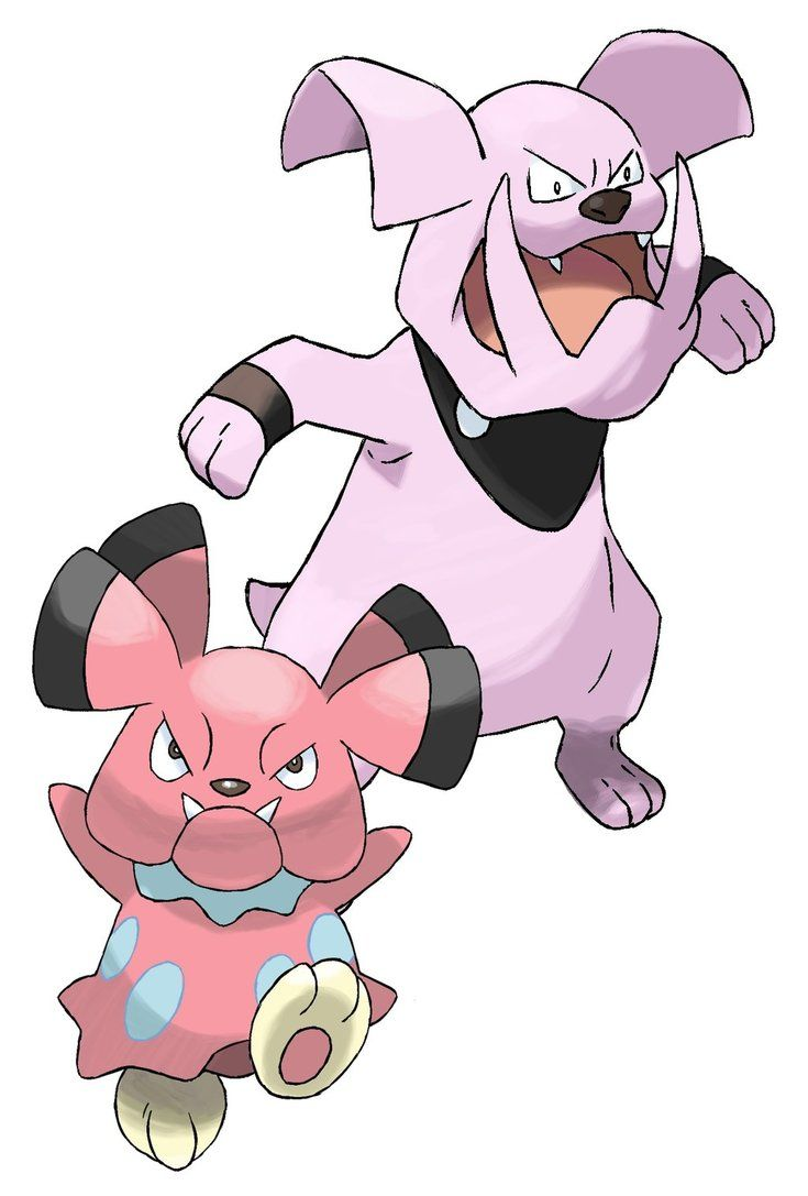 209-210 Snubbull Evolution by Torathor on DeviantArt