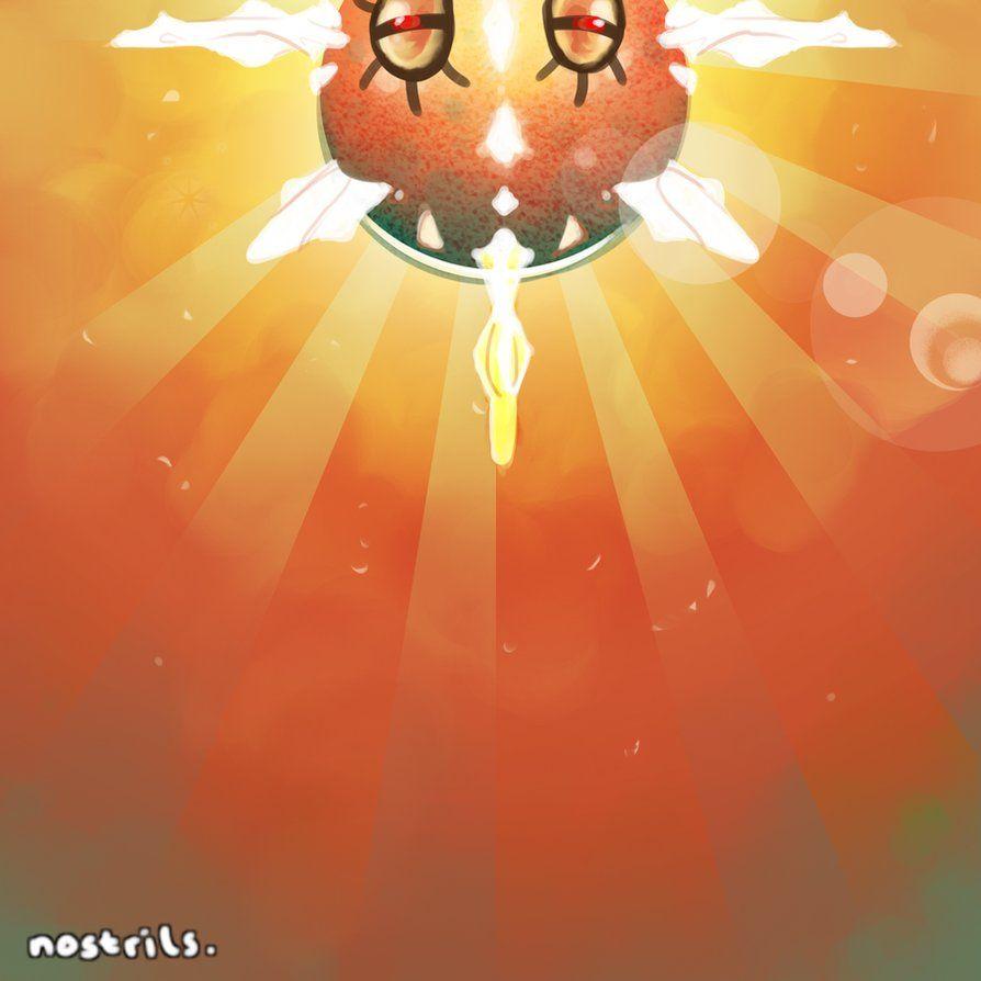 SOLROCK USED SOLAR BEAM! by li-sha on DeviantArt