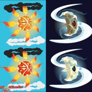 download Mega Solrock and Mega Lunatone Designs by 2GoodSharks on DeviantArt