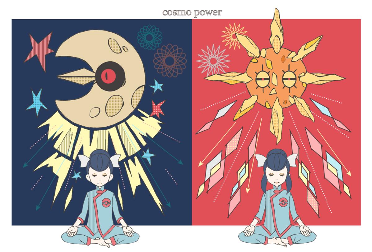 Tate and Lunatone, Liza and Solrock | Pokémon | Pinterest | Pokémon …