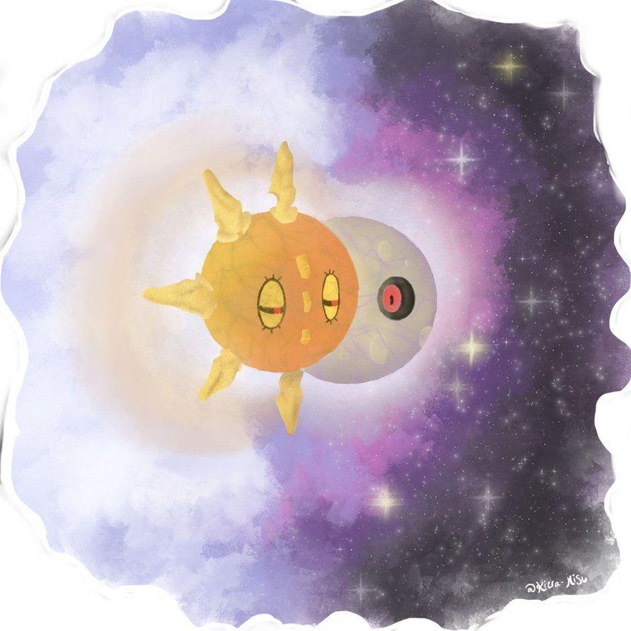 Pokemon Sun and Moon~Lunatone and Solrock by Kiera-Misu on DeviantArt