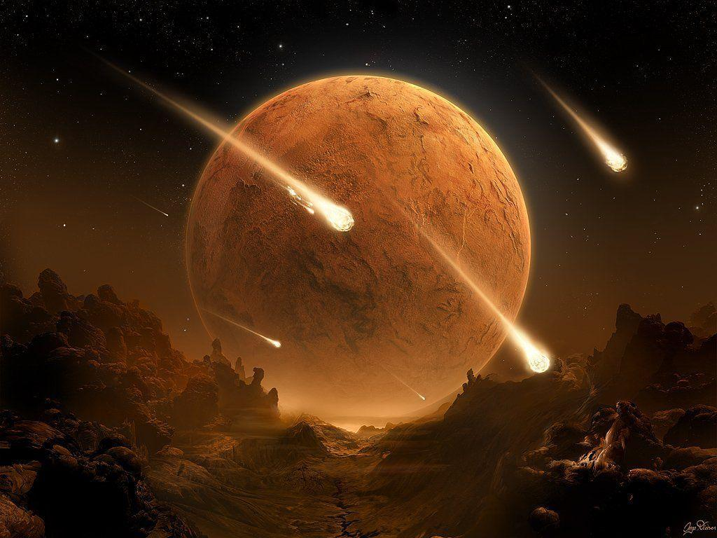 space planets wallpaper img2 «1024×768 «Space art «Universe, space …